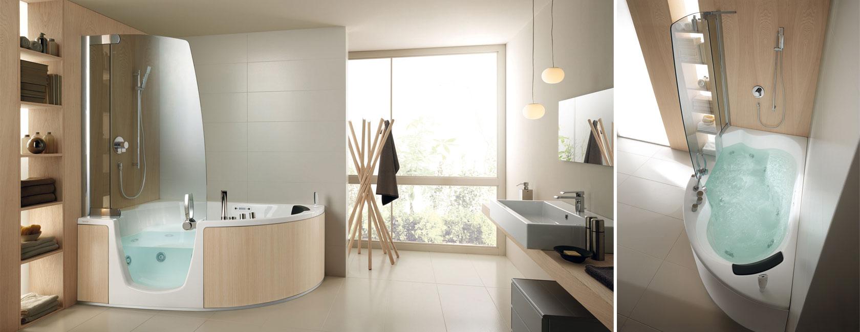 Doccia o vasca da bagno entrambe insieme interno uno - Combinati vasca doccia ...